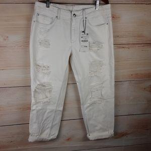 Zara Women Denim Collection Boyfriend fit Jeans